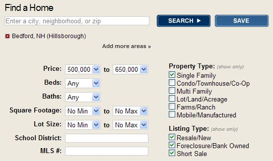 homes for sale in Bedford New Hampshire